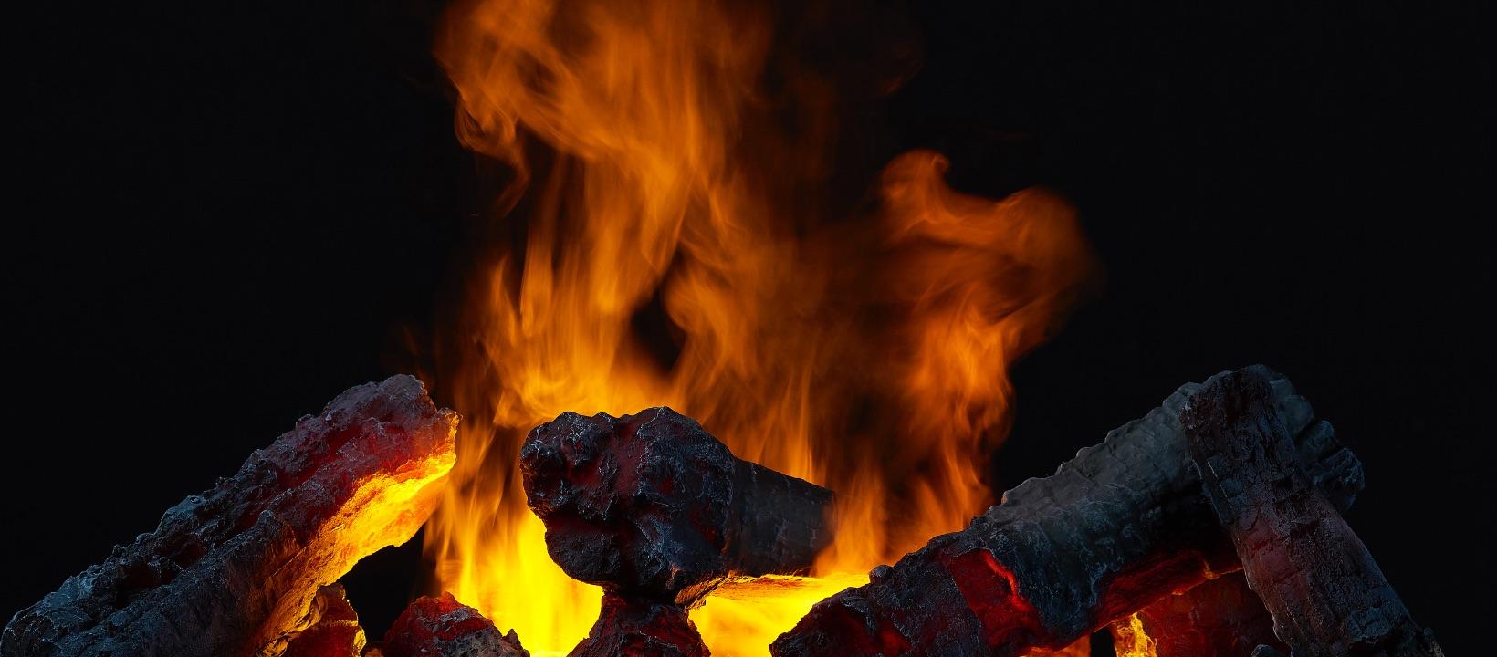 Brandende kolen Dimplex